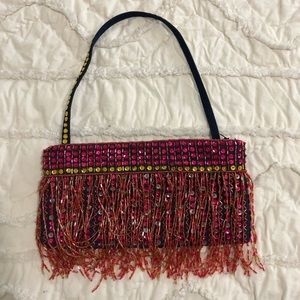 Handbags - Sequin and beaded bag